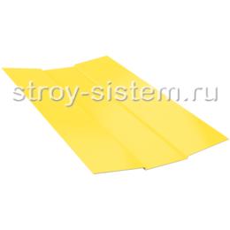 Ендова верхняя 76х76х2000 мм RAL 1018 желтый