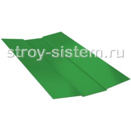 Ендова верхняя 76х76х2000 мм RAL 6002 лиственно-зелёный