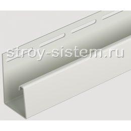 J-профиль для фасадных панелей Docke палевый 3000 мм