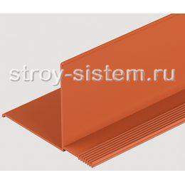 Внутренний угол для фасадных панелей Docke каштановый 3000 мм