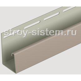 J-профиль для фасадных панелей Docke бежевый 3000 мм