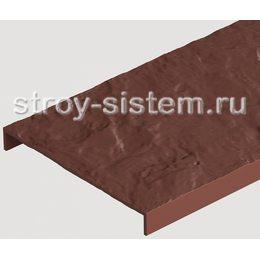 Бордюр универсальный для фасадных панелей Docke земляной 1000 мм