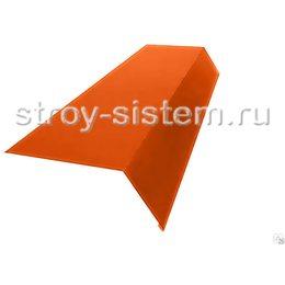 Планка карнизная 100х65 мм RAL 2004 оранжевый