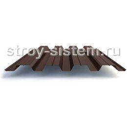 Профнастил Н60 0,7 мм RAL 8017 шоколадно-коричневый