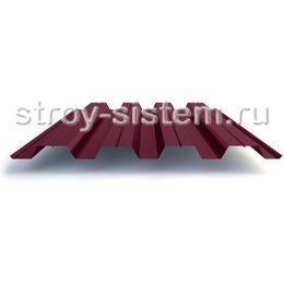 Профнастил Н60 0,7 мм RAL 3005 винно-красный