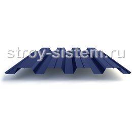 Профнастил Н60 0,7 мм RAL 5005 сигнальный синий
