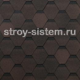Гибкая черепица Технониколь Shinglas Оптима Соната коричневая