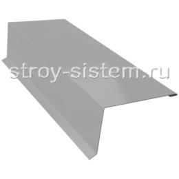 Планка торцевая 95x120 мм матовый Ral 7004 серый