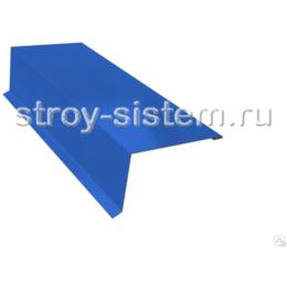 Планка торцевая 95х120 мм Ral 5002