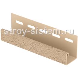 J-планка Stone House S-Lock клинкер песочный 3050 мм