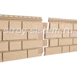 Фасадные панели Stone House S-Lock клинкер песочный 1950х292 мм