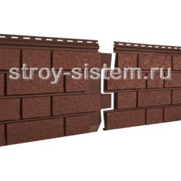 Фасадные панели Stone House S-Lock клинкер терракотовый 1950х292 мм