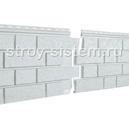 Фасадные панели Stone House S-Lock клинкер дымчатый 1950х292 мм