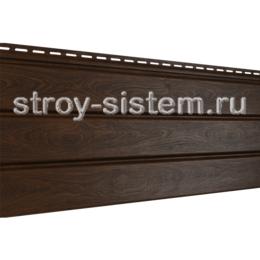 Софит PRO Ю-пласт без перфорации орех темный 3000x300 мм