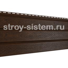 Софит PRO Ю-пласт с полной перфорацией орех темный 3000x300 мм