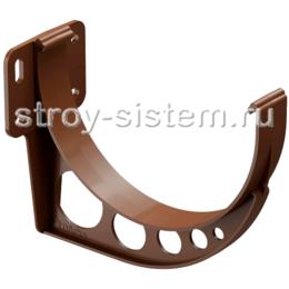 Кронштейн желоба Docke Standard D120 мм короткий RAL 8017 Светло-коричневый