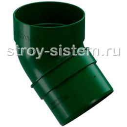 Колено трубы Docke Standard D80 мм 45 градусов RAL 6005 Зеленый
