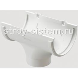Воронка желоба Docke Standard D120/80 мм RAL 9003 Белый