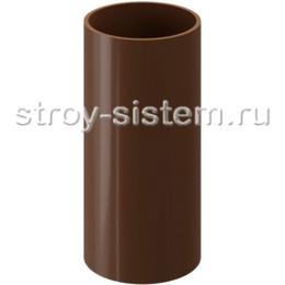 Труба водосточная Docke Standard D80х3000 мм RAL 8017 Светло-коричневый