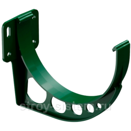 Кронштейн желоба Docke Standard D120 мм короткий RAL 6005 Зеленый