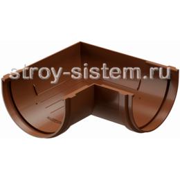 Угол желоба Docke Standard D120 мм 90 градусов RAL 8017 Светло-коричневый
