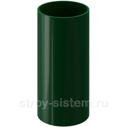 Труба водосточная Docke Standard D80х3000 мм RAL 6005 Зеленый