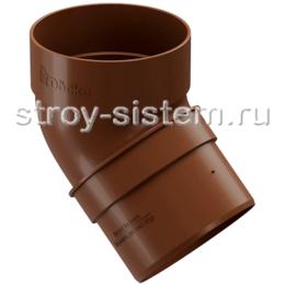 Колено трубы Docke Standard D80 мм 45 градусов RAL 8017 Светло-коричневый