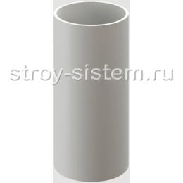 Труба водосточная Docke Standard D80х1000 мм RAL 9003 Белый