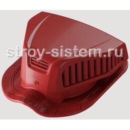 Аэратор точечный Docke Pie Monterrey для металлочерепицы  красный