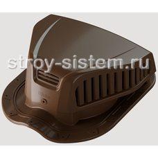Аэратор точечный Docke Pie Monterrey для металлочерепицы светло-коричневый