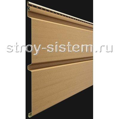 Виниловый сайдинг Брус Docke Premium D6S Карамель
