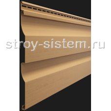 Виниловый сайдинг Docke Premium D4.5D Карамель