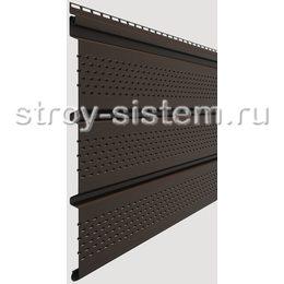 Софит Docke Standard Шоколад с полной перфорацией 3050х305 мм виниловый