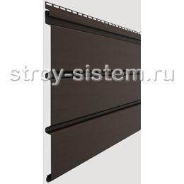 Софит Docke Standard Шоколад сплошной 3050х305 мм виниловый