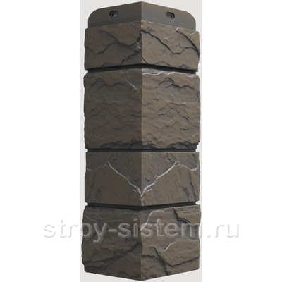 Угол наружный Docke Slate Сланец Куршевель 406 мм