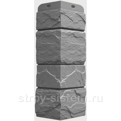 Угол наружный Docke Slate Сланец Валь-Гардена 406 мм