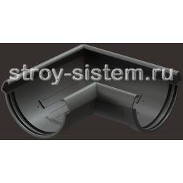 Угол желоба Docke Lux D141 мм 90 градусов RAL 7024 Графит