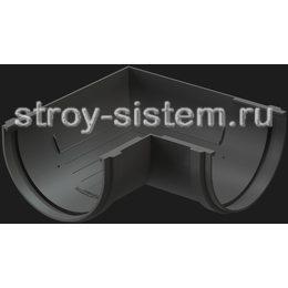 Угол желоба Docke Premium D120 мм 90 градусов RAL 7024 Графит