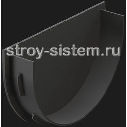 Заглушка воронки Docke Premium D120 мм RAL 7024 Графит