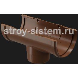 Воронка желоба Docke Premium D120/85 мм RAL 8017 Каштан