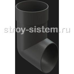 Отвод трубы Docke Premium D85 мм RAL 7024 Графит