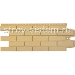 Фасадные панели Grand Line Клинкерный кирпич песочный 968 х 390 мм