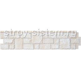 Фасадная панель Grand Line GL Я-фасад Екатерининский камень слоновая кость