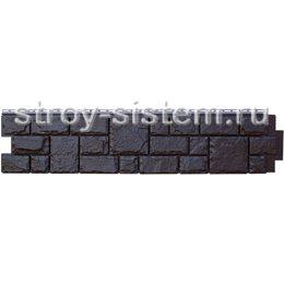 Фасадная панель Grand Line GL Я-фасад Екатерининский камень уголь