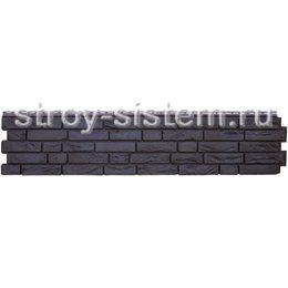 Фасадная панель Grand Line GL Я-фасад Демидовский кирпич уголь