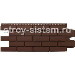 Фасадные панели Grand Line Клинкерный кирпич коричневый 968 х 390 мм