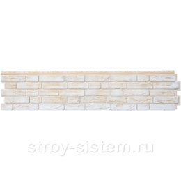 Фасадная панель Grand Line GL Я-фасад Демидовский кирпич слоновая кость