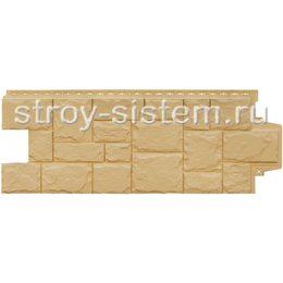 Фасадные панели Grand Line Крупный камень песочный 982 х 383 мм