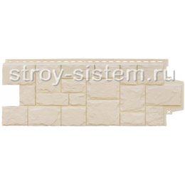 Фасадные панели Grand Line Крупный камень бежевый 982 х 383 мм