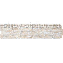 Фасадная панель Grand Line GL Я-фасад Скала слоновая кость